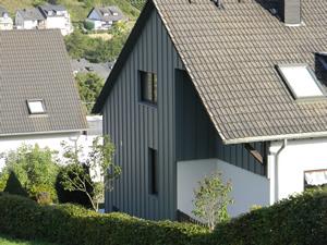 Fassaden Aus Metall Faserzement Fassadenplatten Oder Schiefer